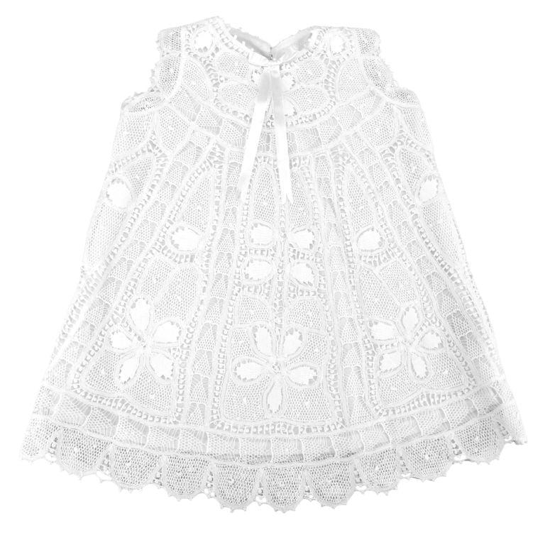 Vestido Renda Renascença Helena (12 meses)