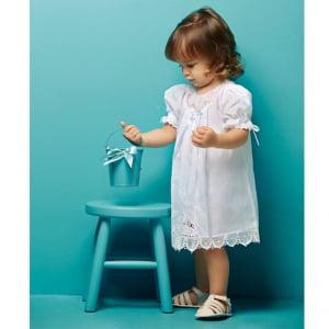 Vestido Renda Renascença Laura (6 e 12 meses)