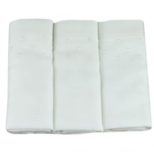 Fralda bordada poá branco - de R$ 19,98 a R$ 23,50 - Desconto Progressivo
