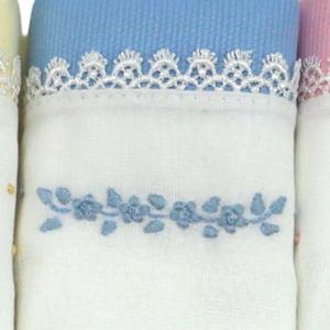 Fralda Guipure Floral (3 unid.)