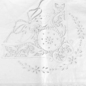 Manta Richelieu Medalhão