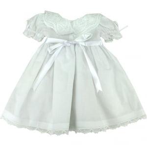 Vestido Renda Renascença Maitê (3, 6, 12 e 24meses)
