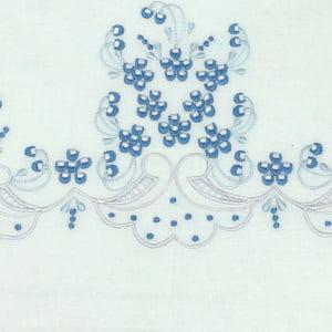 Cueiro Lençol de Xixi Richelieu Sonho Azul