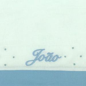 Fralda Personalizada Azul - de R$ 28,82 a R$ 33,90 - Desconto Progressivo
