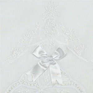 Lençol Xixi Renda Renascença Cueiro Floral puro algodão