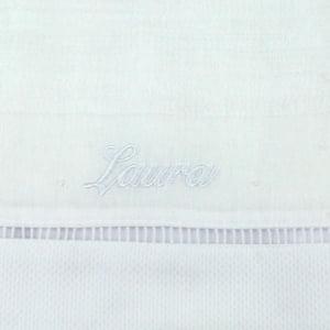 Toalha Fralda Personalizada Branca