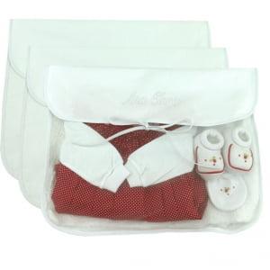 Saco Maternidade Personalizado Branco (até 2 nomes) - De R$ 38,32 a R$ 47,90 - Desconto Progressivo