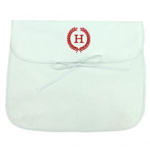 Saco Maternidade Ramos Iniciais Personalizado Vermelho (até 2 letras) - De R$ 49,60 a R$ 62,00 - Desconto Progressivo