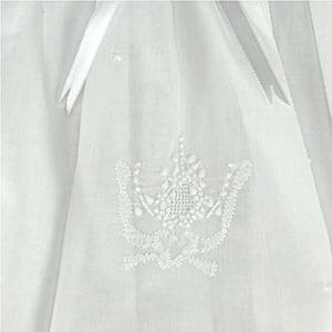 Vestido Renda Renascença Três Ordens (RN, 6 e 12 meses)