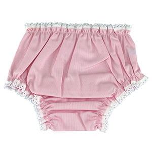 Calcinha fustão rosa